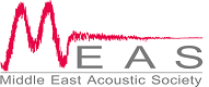 Middle East Acoustic Society Logo